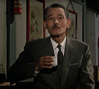 Ryu Chishu w filmie Ozu