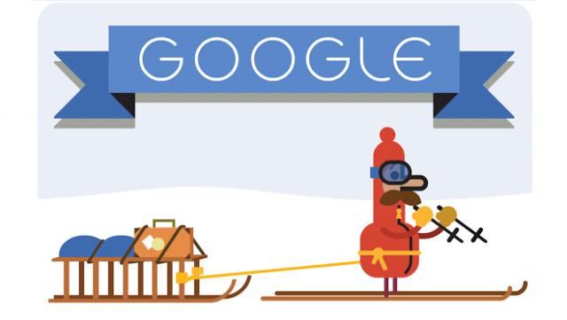 Logo Google 24 grudnia
