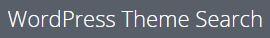 Wordpress Theme Search detektor logo