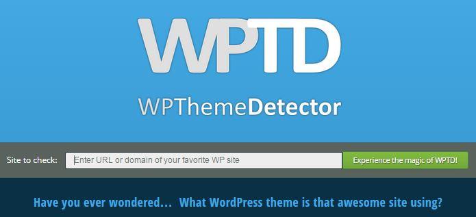 WpThemeDetector narzędzie internetowe