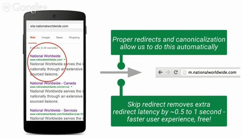 automatyczne przekierowanie mobilna wersja