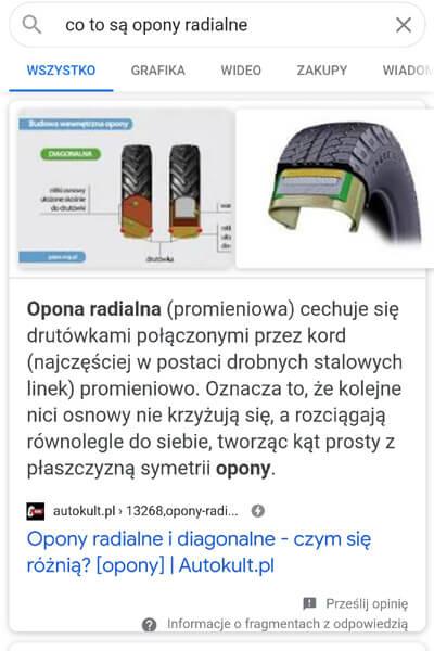 mobilny zerowy wynik wyszukiwania
